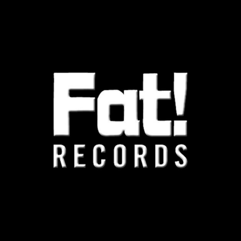 Fat Records - Logo Black SQR